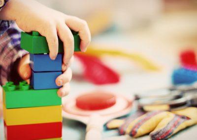 Espace apaisant pour les enfants victimes de violences