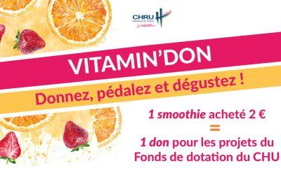 Opération Vitamin'Don à Notre dame d'Oé