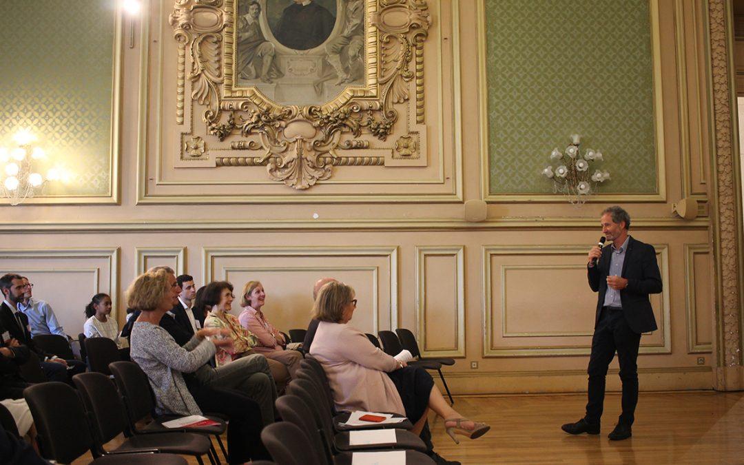 Soirée annuelle : plus de 100 personnes réunies aux côtés de Michel Desjoyeaux