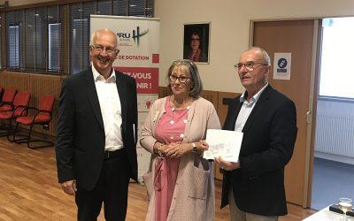 La Mutuelle Nationale des Hospitaliers s'engage aux côtés du Fonds de dotation du CHU de Tours