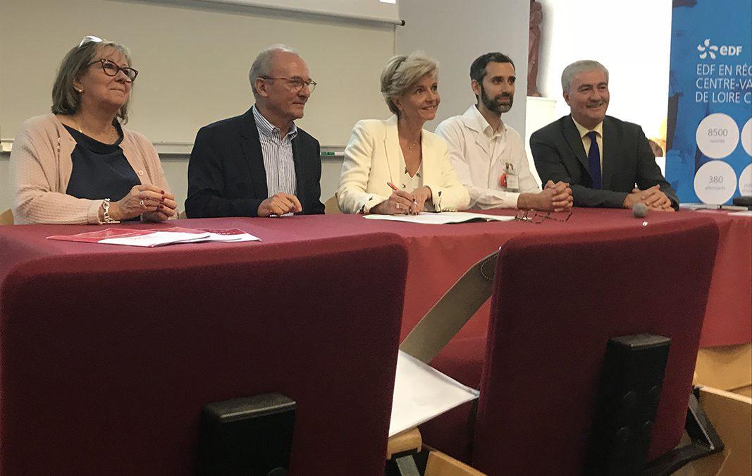 La Fondation Groupe EDF soutient Le Fonds de dotation du CHU de Tours
