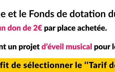 Le Fonds de dotation du CHU de Tours et les Concerts d'automne s'associent !