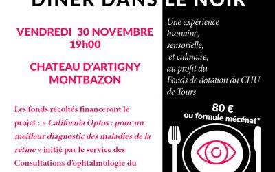 30 novembre 2018 : 1er dîner caritatif du Fonds de dotation du CHU de Tours !