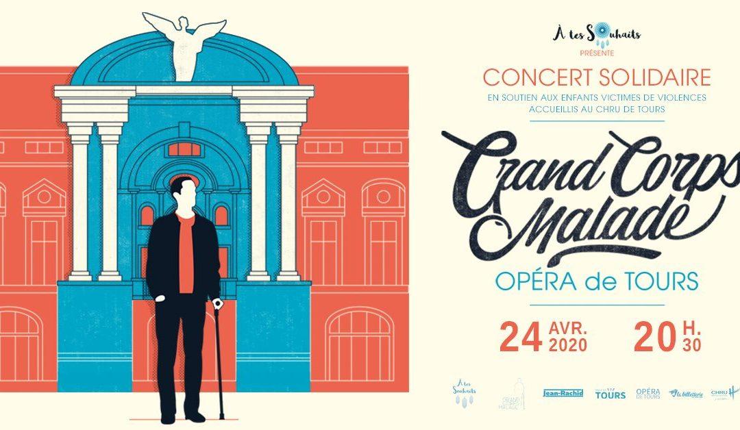 Un Concert caritatif de Grand Corps Malade – Le 24 avril 2020