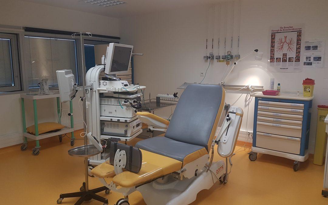 Apaisement et diversion en endoscopie bronchique
